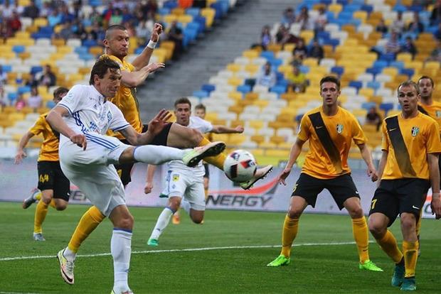 Дубль Кравца вывел Динамо в 1/4 финала Кубка Украины