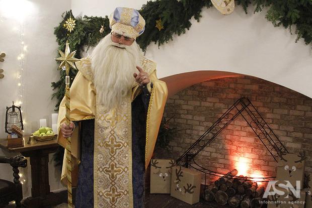 Святой Николай открыл резиденцию в центре Киева
