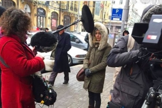 Французскую звезду Ванессу Паради увидели в Киеве