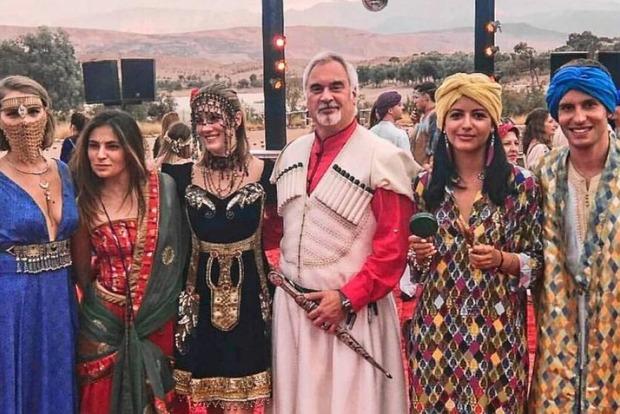 Опубликованы видео свадьбы в Марокко старшей дочери певца Валерия Меладзе