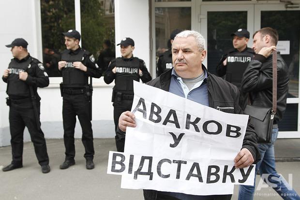 ОУН под МВД заявила, что у них забрали  деньги, компьютеры, мобильные телефоны