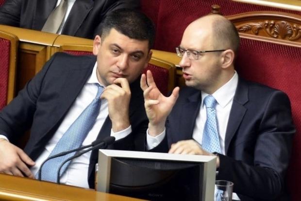 Гройсман считает, что Яценюк не уйдет из политики