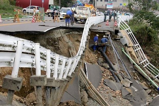 В результате землетрясений в Японии погиб 31 человек (обновлено)