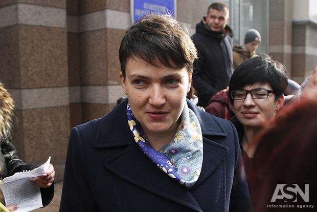 Савченко предложила