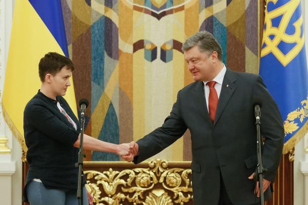 Террорист Захарченко поддержал президентские амбиции Савченко
