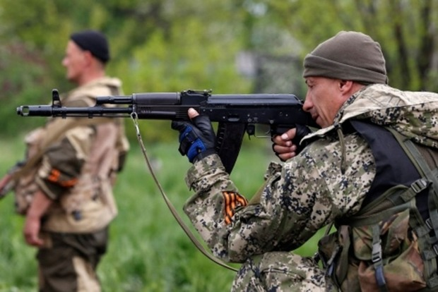 Сегодня боевики 15 раз обстреляли позиции сил АТО
