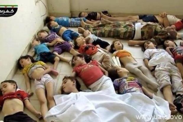 ЮНИСЕФ: жертвами химической атаки в Сирии стали 27 детей
