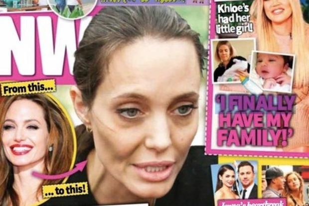 Брэд Питт хочет упечь нервную Джоли в психушку