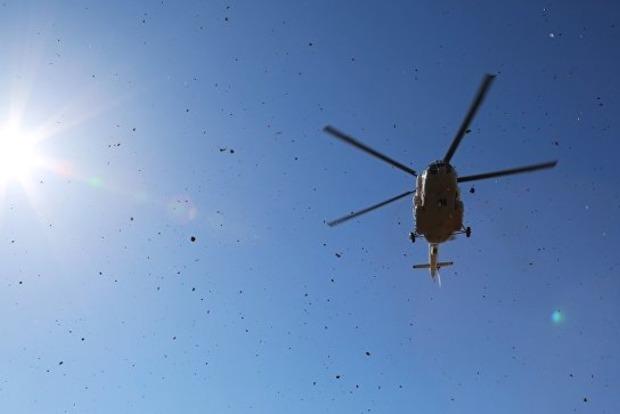Крушение вертолета в Чечне: появилось видео