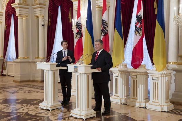 Военное решение конфликта на Донбассе невозможно: Австрия призвала РФ сесть за стол переговоров