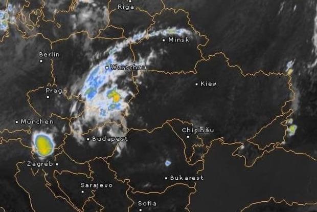 Циклон Гвидо приближается к Украине