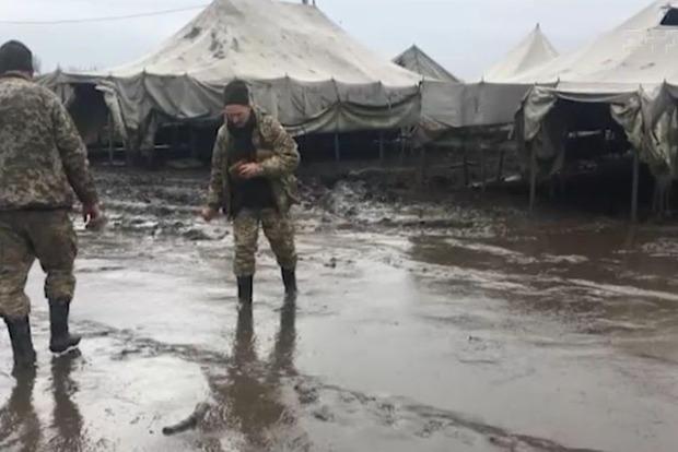 В Штабе возложили ответственность за пожар на Широком Лане на военных