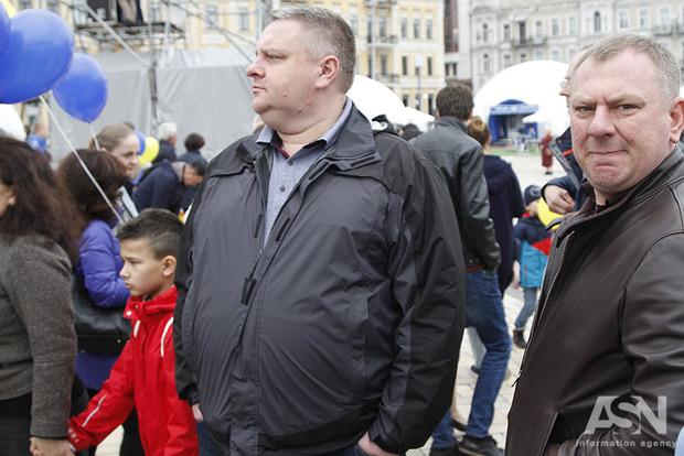 Крищенко: После штурма Святошинского райсуда задержаны 30 человек