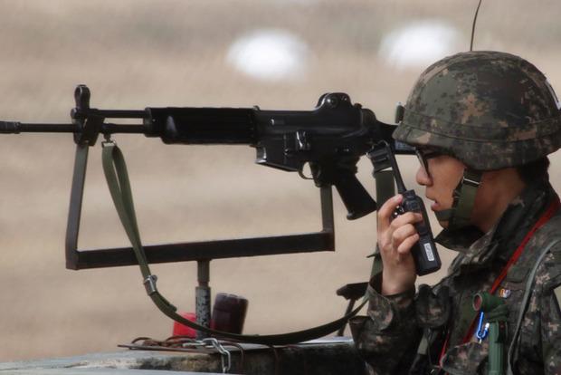 На границе Южной Кореи и КНДР произошла стрельба