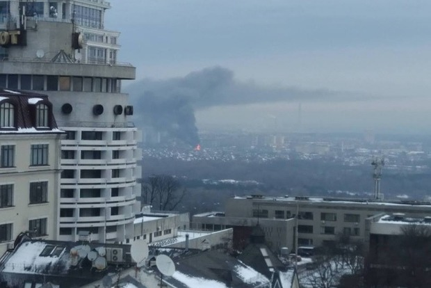 Всгоревшем личном  доме вКиеве произошел взрыв неизвестного вещества,— ГСЧС