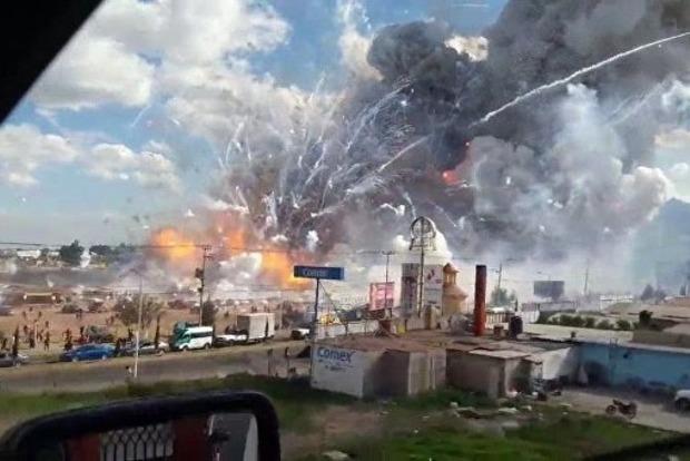 В Мексике произошел взрыв пиротехники, 14 человек погибли