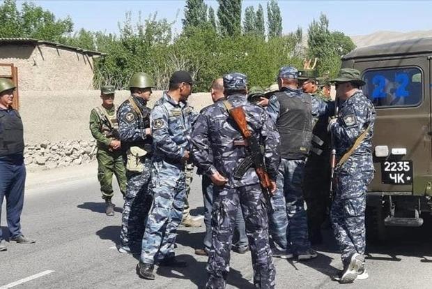 Напруженість на киргизько-таджицькому кордоні знову зросла