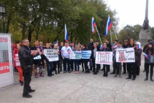 День рождения Путина. В РФ проходят акции в поддержку Навального