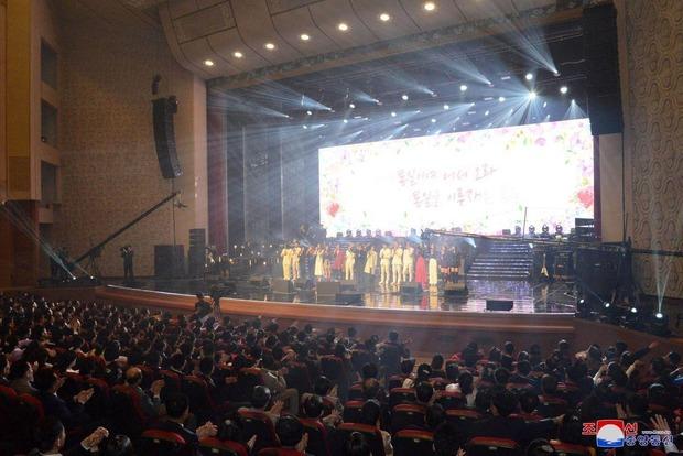 Культурное перемирие Артисты из Южной Кореи дали концерт в Пхеньяне