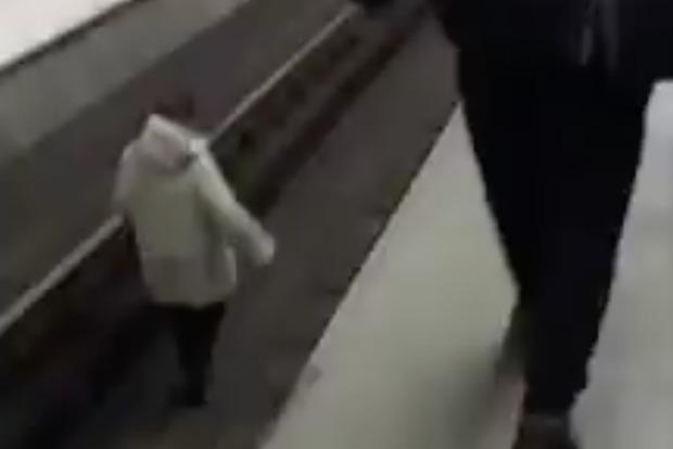 Вкиевском метро произошел омерзительный случай с дамой