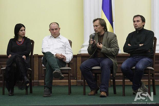 Участники Майдана 27-летней давности - Революции на граните, отметили годовщину акции
