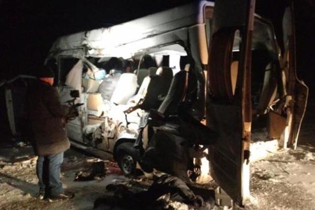 В ДТП с автобусом в Днепре погибли 5 человек: Опубликованы фото