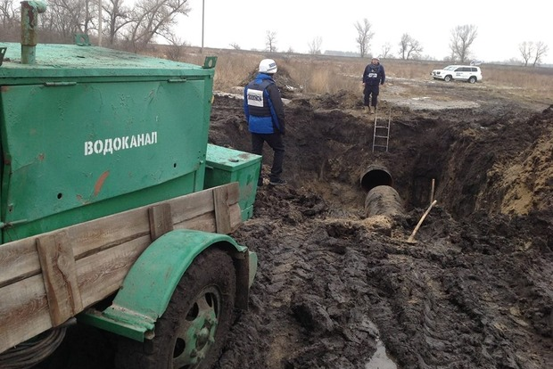 В окупованому Луганську 250 тисяч людей залишилися без води - ОБСЄ