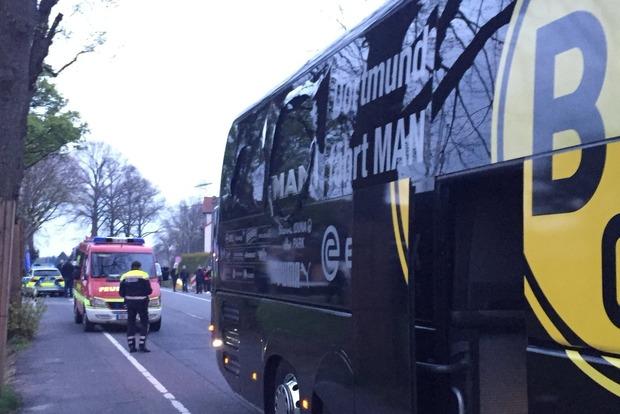 Новые подробности взрыва у автобуса Боруссии. Найдена признательная записка взрывника