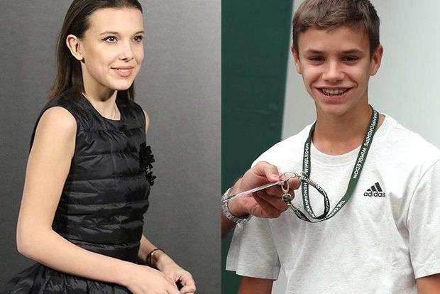 Юный сын Бекхэм встречается с 15-летней актрисой