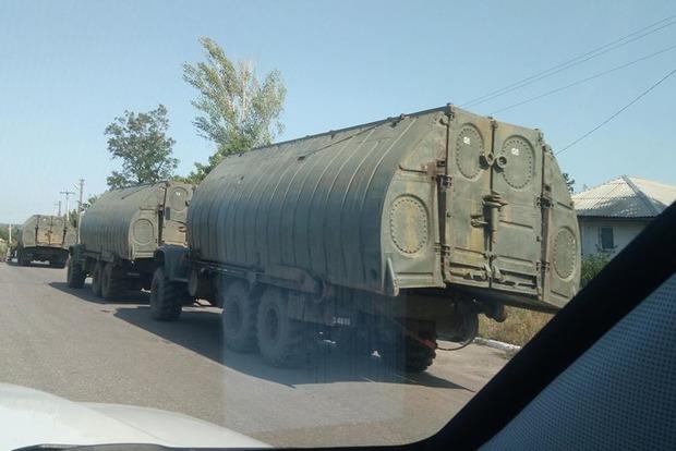 Наблюдатели ОБСЕ увидели колонны техники в «ЛНР»