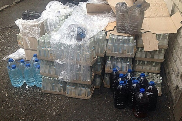 В Днепропетровской области ликвидировали подпольный водочный цех
