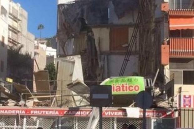 На Канарских островах рухнул жилой дом