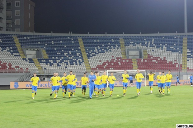 Коноплянка и Пятов в Албании встретились с друзьями из команды соперников
