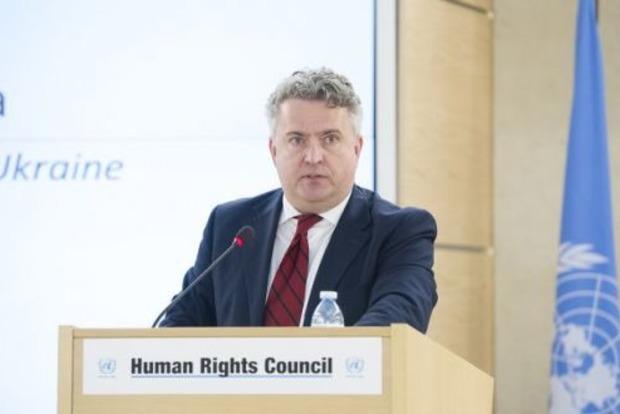 Во время юбилея ООН Украина заявляет, что Российская Федерация пытается «очистить» Крым от украинского населения
