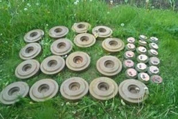 В районе АТО обнаружен тайник с минами