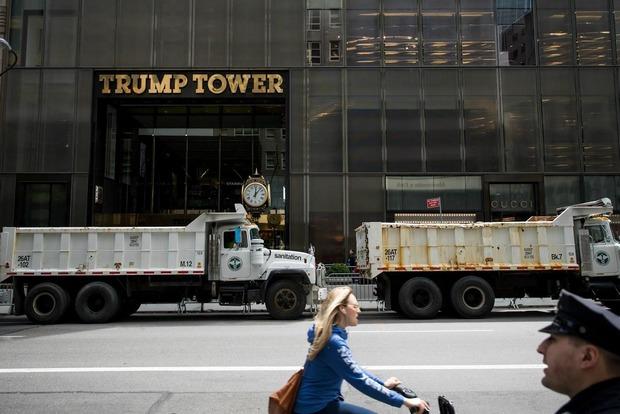 Армия США снимает в Башне Трампа в Нью-Йорке офисы за $130 тыс. в месяц