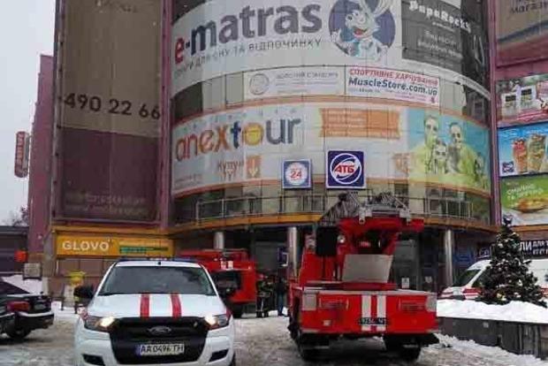 В ТЦ «Мармелад» в Киеве прогремел взрыв. Появились фото