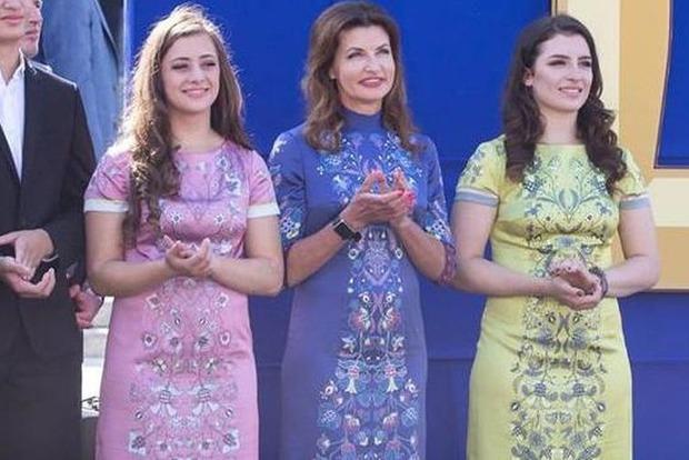 Дочери Порошенко поступили в престижные лондонские вузы