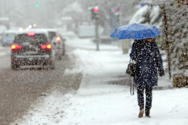 Завтра в Киевской области ожидаются снегопады