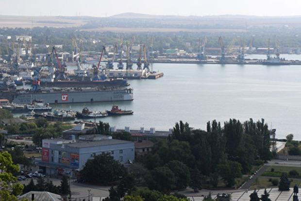 Украина добивается санкций против Черноморских портов РФ из-за блокады Азовского моря