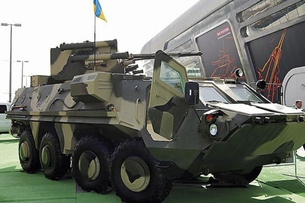 Военные в зоне ООС испытали истребитель танков БТР «Буцефал»