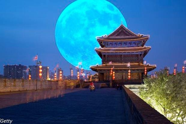 Китайцы запустят ″искусственную Луну″ в 2020 году, чтобы освещать города