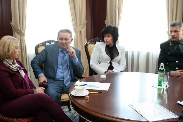 Кучма заслушал предварительный отчет о верификации списков: несколько сотен человек не хотят в ОРДЛО
