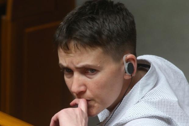 Савченко хотят исключить из комитета по нацбезопасности и обороне
