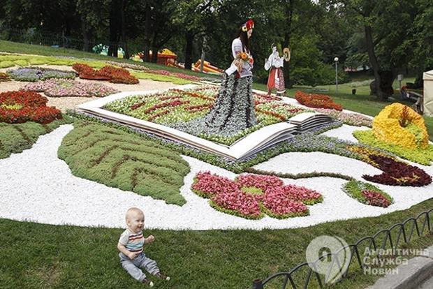 Гениальная выставка. В Киеве открылась выставка цветов, посвященная украинским гениям