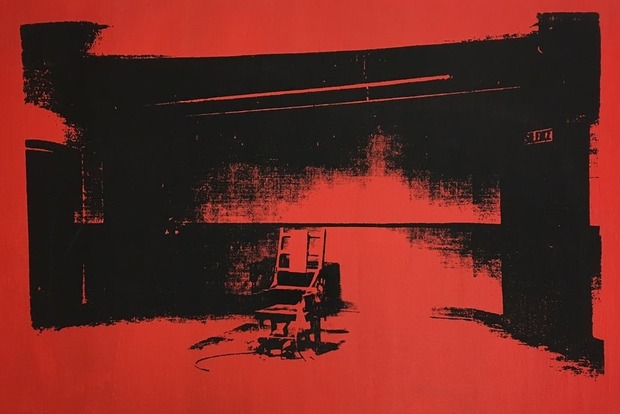 Элис Купер нашел неизвестную картину Энди Уорхола, но не решился вывесить ее на стене