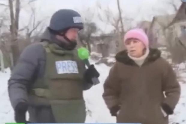 В Марьинке задержали женщину, рассказывавшую о «бесчинствах» ВСУ для пропагандистов России