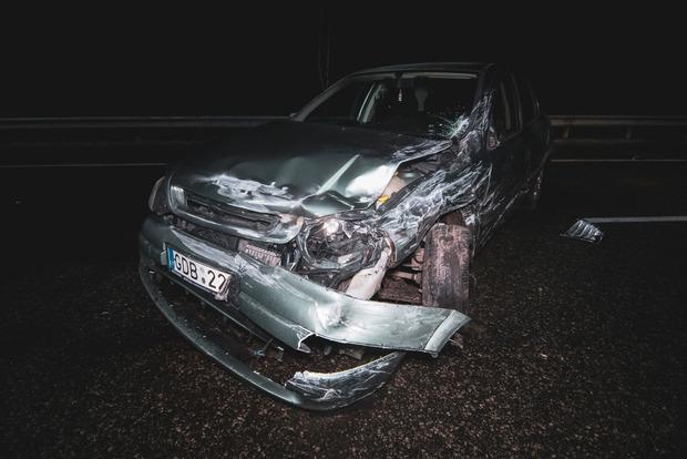 Под Киевом столкнулись сразу 20 машин
