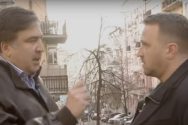 Саакашвили: За мной по пятам ходят журналисты «убийцы украинского народа» Ахметова