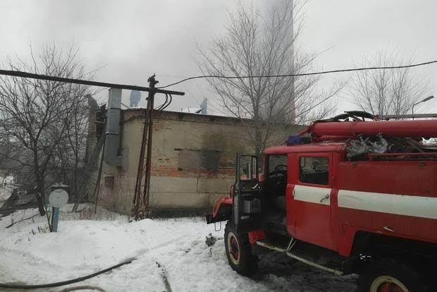 В Харькове горел бывший «Кожзавод»: двое погибших